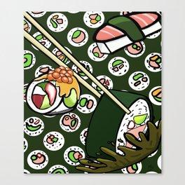 Happy to Sashimi? Canvas Print