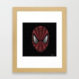 Spider Man Line Art By Kaydesign Framed Art Print