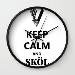 SKÖL Wall Clock