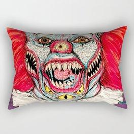 Scary Clown Rectangular Pillow