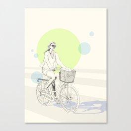 Bike ride (three) Canvas Print