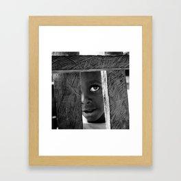 The Eye of Life Framed Art Print