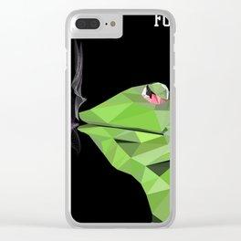 Fuck Tea Clear iPhone Case