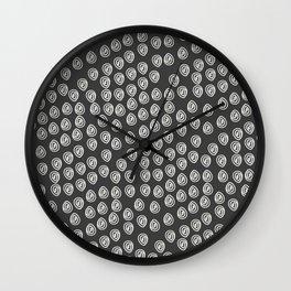 Grey Color Minimalist Abstract Art, Printable Art,Home Decor, Modern Art Wall Clock