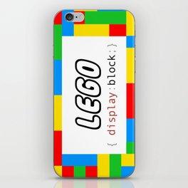 CSS Pun - Lego iPhone Skin
