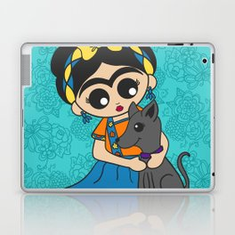 Little Dog Friend Laptop & iPad Skin