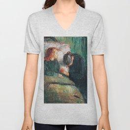 Edvard Munch - The Sick Child Unisex V-Neck