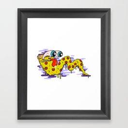 Pizzzzzzzzaaaa Framed Art Print