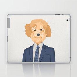 Posing Poodle Laptop & iPad Skin