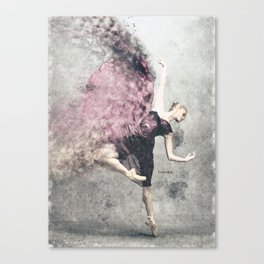 Dancing on my own Canvas Print
