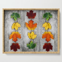 autumn color Serving Tray