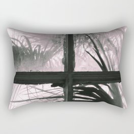 Trapped Palms Rectangular Pillow