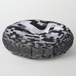 black-and-white -05- Floor Pillow