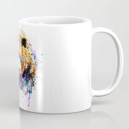 Colorful Grizzly Bear Coffee Mug