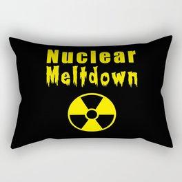 nuclear meltdown Rectangular Pillow