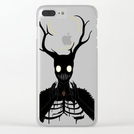 The Fallen Beast Clear iPhone Case