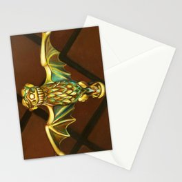 Haunted Mansion Bat Stanchion Stationery Cards
