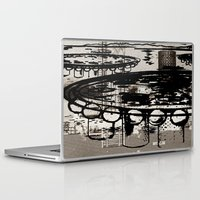 invader zim Laptop & iPad Skins featuring Architect Invader by Paul Prinzip