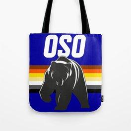 OSO Bear art for gay bears LGBT PRIDE SEASON Tote Bag