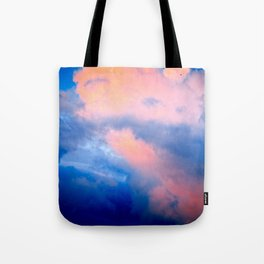 Heavy Cumulus Clouds At Sunset Tote Bag
