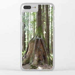 Overgrowth Clear iPhone Case
