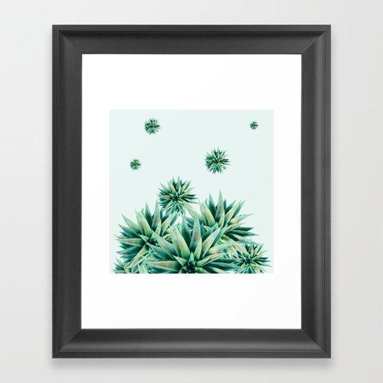 tropical stars  Framed Art Print