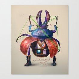 Beetle stunt Canvas Print