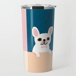 Little_French_Bulldog_Love_Minimalism_001 Travel Mug