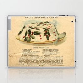 Fruit Cakes - Vintage Laptop & iPad Skin