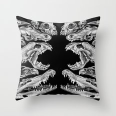Carnivores Throw Pillow