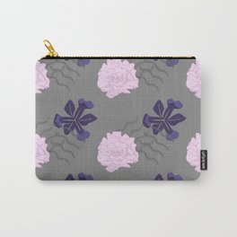 Blooms Between Lines Carry-All Pouch