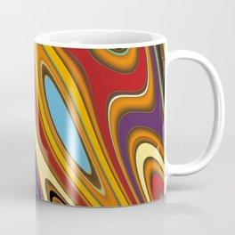 Color Mix Abstract Coffee Mug