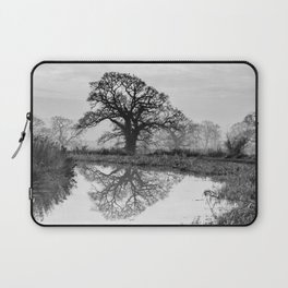 Reflection in the Bend Laptop Sleeve
