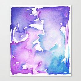 blue wash Canvas Print