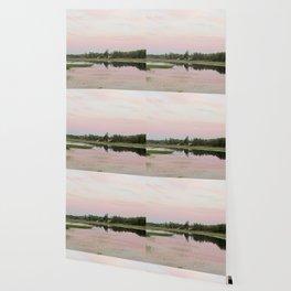 Pennamaquan River at Sunset Wallpaper