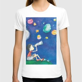 Stars and little planets T-shirt