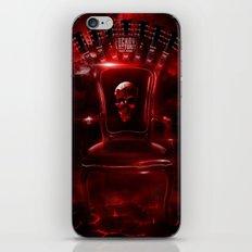 Infernal throne iPhone & iPod Skin