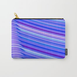 Purple Flow Carry-All Pouch