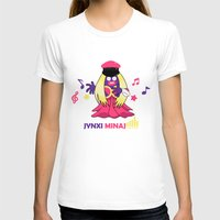 minaj T-shirts featuring Jynxi Minaj  by The Art of Leena Cruz :)