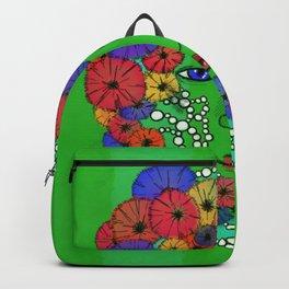 Floral (pearl series) Backpack