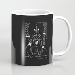 The Emperor Tarot Card Coffee Mug