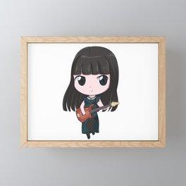 Band-maid Misa Framed Mini Art Print
