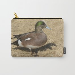 American Wigeon Duck Carry-All Pouch
