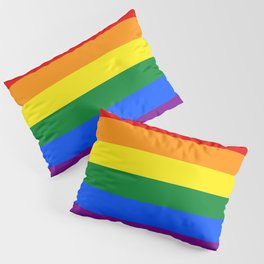 LGBT Pride Flag (LGBTQ Pride, Gay Pride) Pillow Sham