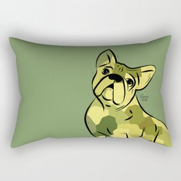 Frenchy, army Rectangular Pillow