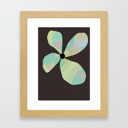 FLOWERY  KAYA / ORIGINAL DANISH DESIGN bykazandholly Framed Art Print