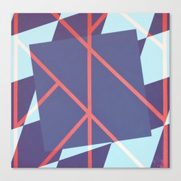 Leaf - diamond graphic Canvas Print