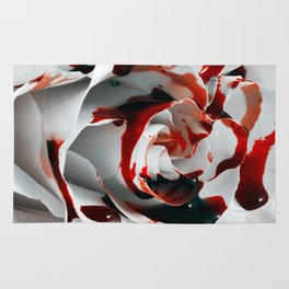 Paining a Rose Red Rug