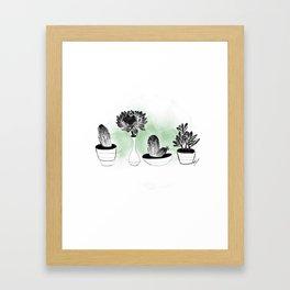 Bello cacuS Framed Art Print
