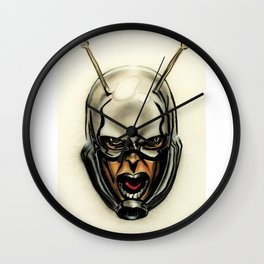 Ant-man Airbrush Portrait Wall Clock